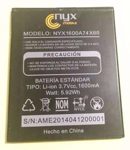 batería nyx fly2 74*60 1600mah