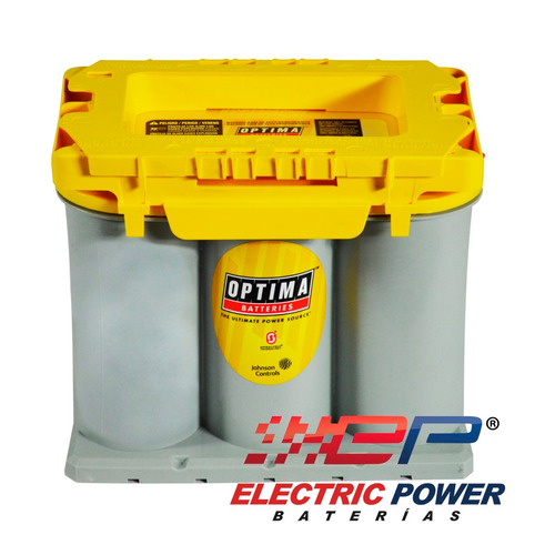 batería o acumulador de gel optima tipo 35 tapa amarilla