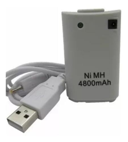 bateria o pila recargable 4800mah xbox 3600 + cargador usb