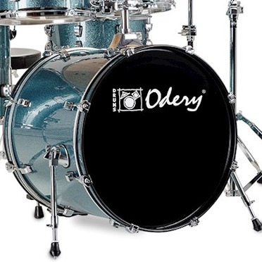 bateria odery inrock series 200.ir bs- brinde dvd video aula