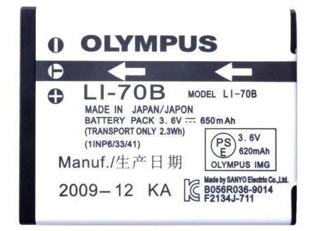 bateria olympus li-70b (sem cartela) original