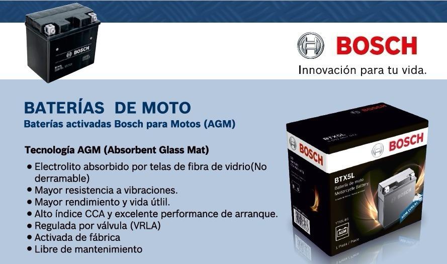 Bateria Original Bosch Ytx12 12ah Kawasaki Vulcan 800