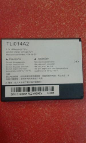 bateria original de alcatel one touch pop c5,a domicilio..