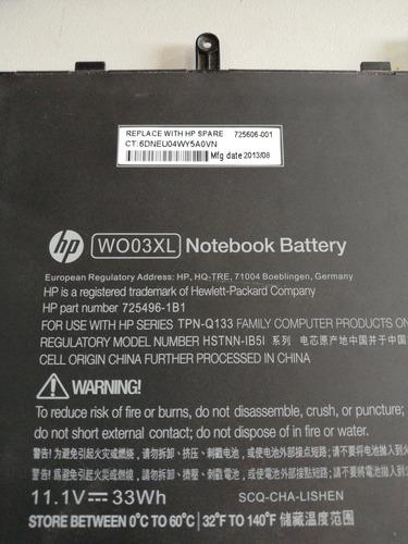 batería original hp split x2