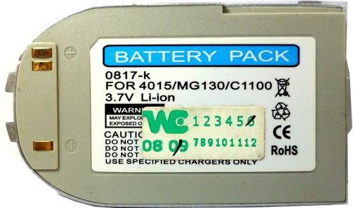 bateria original lg 4015 mg130 3.7v 850mah (2009) uz4572