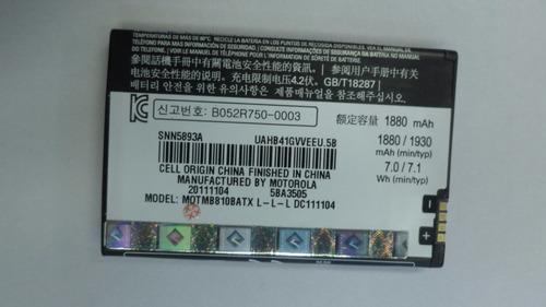 bateria original motorola bh-6x 3.7v 1880mah (2011) pz#2054