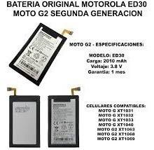 bateria original motorola moto g moto g2  ed30