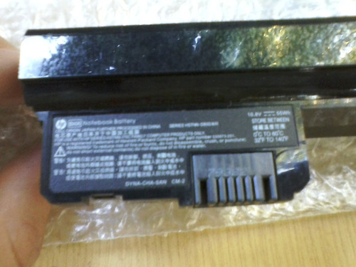bateria original netbook hp mini 1101