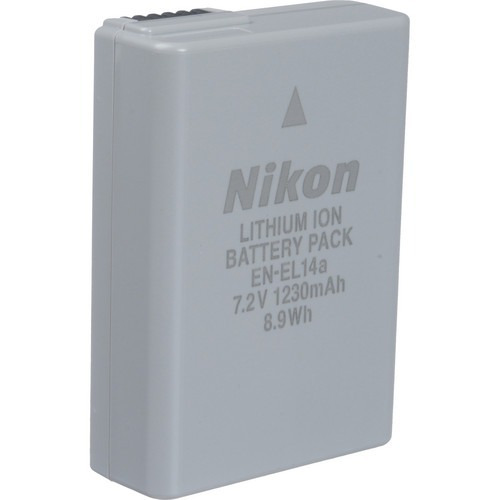 bateria original nikon en-el14a realmente original na caixa