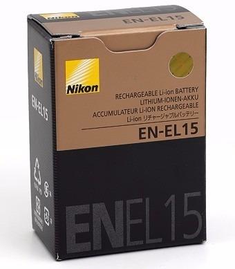 bateria original nikon en el15 para camaras d610, d800 d7100