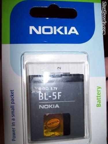 bateria original nokia bl-5f n95 n96 e65 6210 6290 6710 n78
