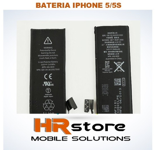 bateria original nueva iphone 5/5s/6/6splus/7/7plus