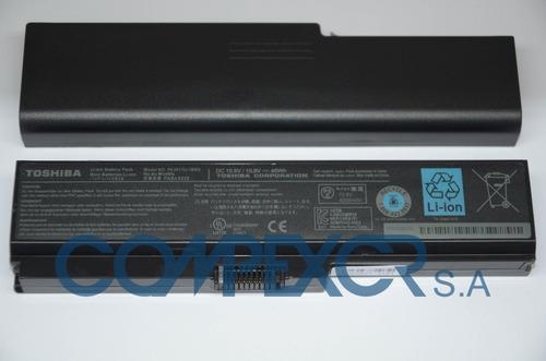 bateria original nueva para toshiba satellite c655   pa3818u