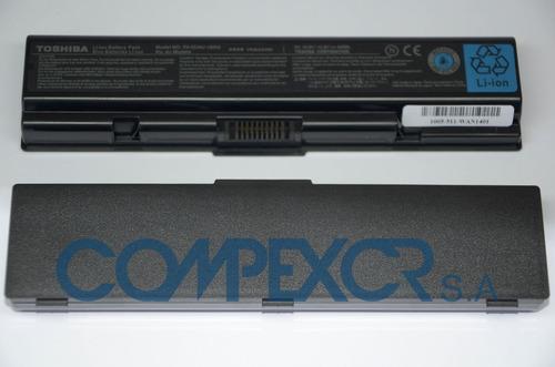 bateria original nueva para toshiba satellite l305  pa3534u