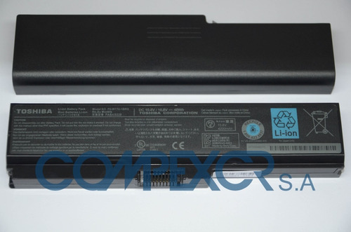 bateria original nueva para toshiba satellite l645   pa3817u