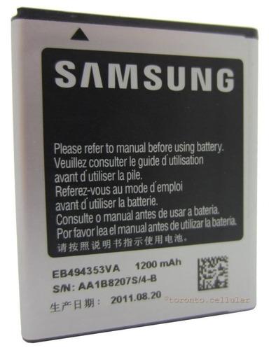 bateria original oem samsung galaxy gt-s5570 gt-s5250 gt-s53