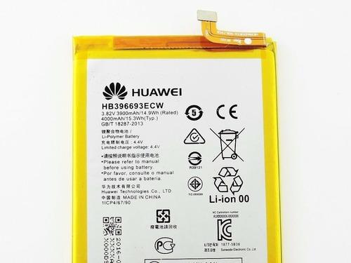 bateria original para huawei mate 8 hb396693ecw 3900mah