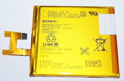 bateria original p/celular sony xperia m2 aqua d2403 d2406