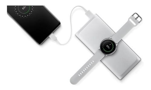 bateria original samsung fast charge wireless 10000mah rose