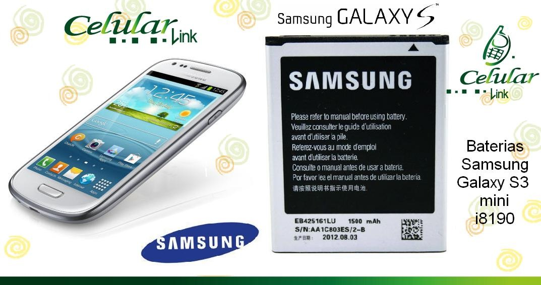 bateria original samsung galaxy s3 mini i8190 ace 2 i8160 u s 15 rh articulo mercadolibre com ec Samsung Galaxy S3 Tips and Tricks manual de usuario del celular samsung galaxy s3