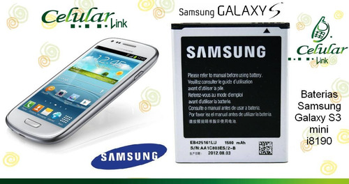 bateria original samsung galaxy: s3 mini i8190, ace 2 i8160