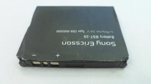 bateria original sony bst-39 3.6v 930mah (2009) pz#3552