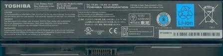 bateria original toshiba satellite c645,c650,c655,c655,c660