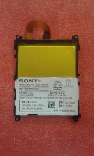 bateria original xperia e3,e4,m2,m4,m4 aqua,m5, instalada