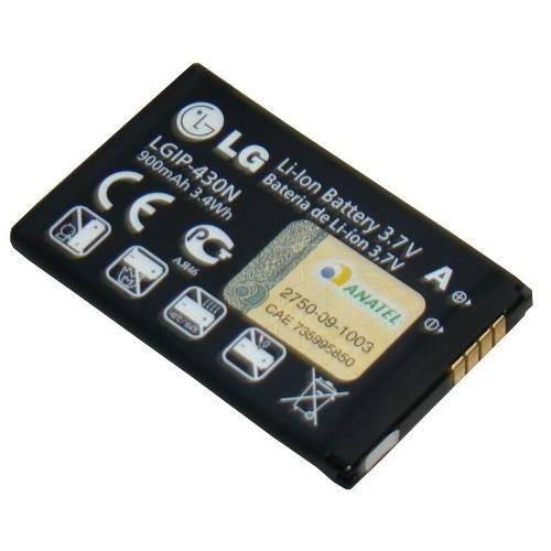 bateria p/ celular lgip-430n 900mah lg c305 gm360 gs290 t310