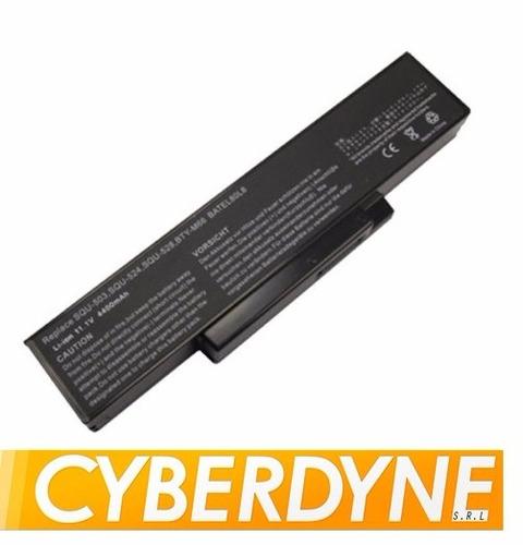 bateria p/ notebook lg e500 asus f2 f3 z94 s96 m660 squ-528