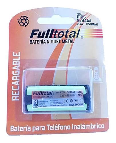 bateria p/ panasonic hhr-p105 nro 31 telefono inalambrico