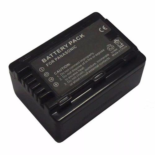 bateria p/ panasonic vby100 hc-v110 v130 v160 v201 generica