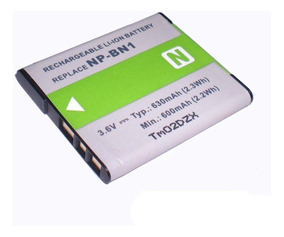 Bateria para Sony CyberShot dscw 510 dscw 520 dscw 530 np-bn1