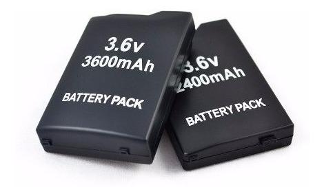 bateria p/ sony psp fat 1000 1001 playstation 3.6v 3600 mah.