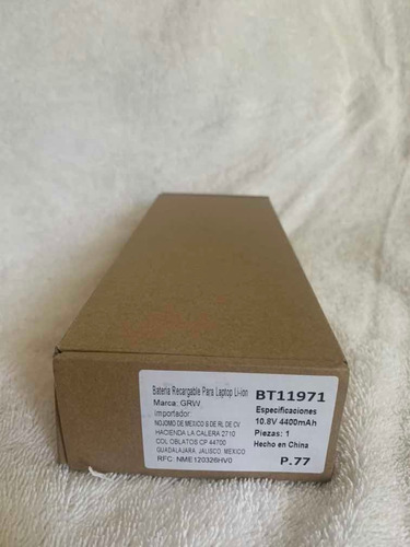 batería p/ toshiba pa3435u 1brs a200 a205 a215 a300