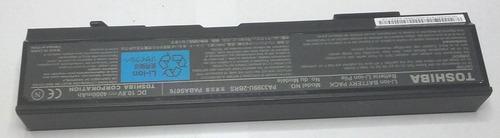 bateria pa3393u notebook toshiba m105 a40