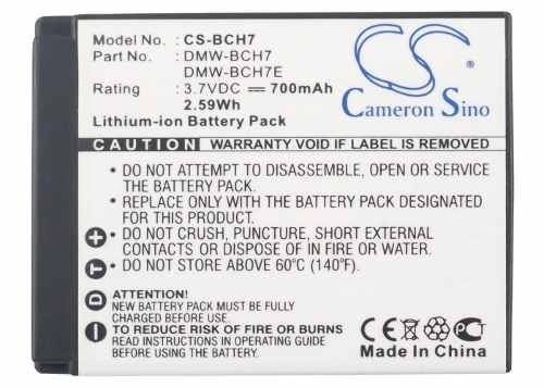 bateria panasonic bch7 lumix dmc-fp1k / dmcfp1k / fp1k