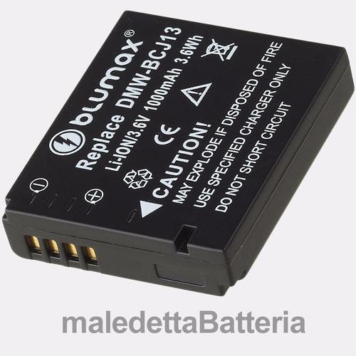 bateria panasonic dmw-bcj13 bcj13e lumix dmc-lx7 lx5