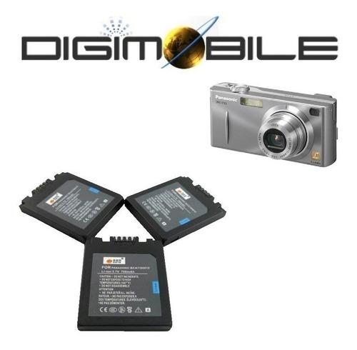 bateria panasonic s001e lumix dmc-f  fx series f1 fx5 700mah