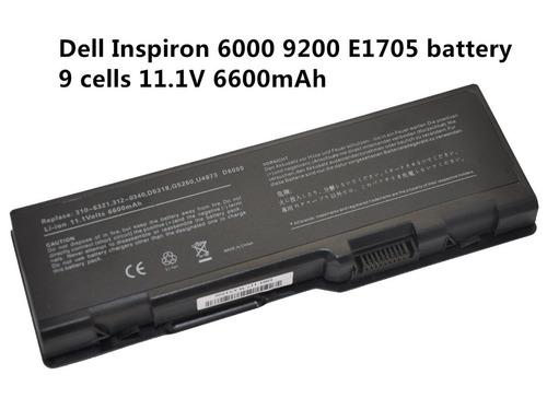 bateria para 310-6322 dell inspiron 6000 9200 9300