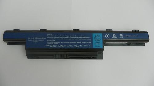 bateria para acer 4551, 4771, 5741, 5740,  6 celdas as10d31