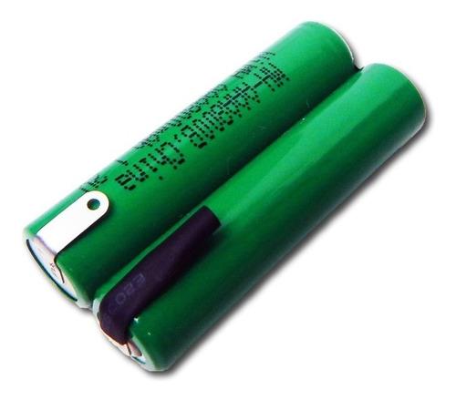bateria para afeitadora 2,4v aaa 800mah