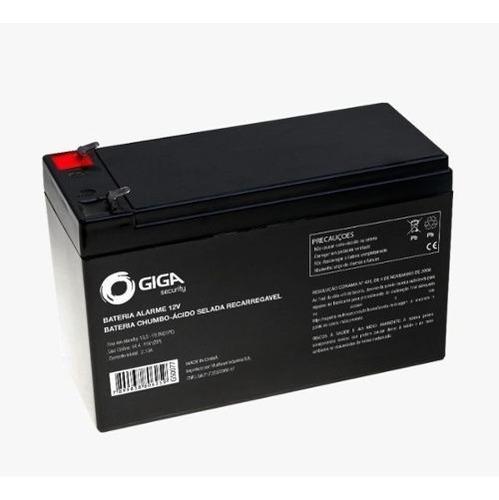 bateria para alarme giga 12v 7a