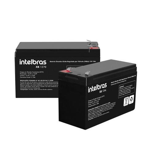 bateria para alarme intelbras vrla 12v xb 12al