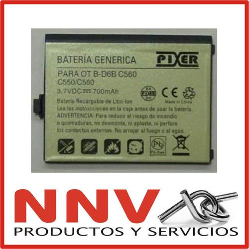 bateria para alcatel c550 c560   c 550  c 560