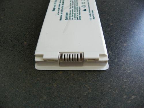 bateria para apple a1185 a1181 13 pulg 8 celdas blanca negra