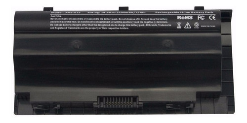 bateria para asus g75 g75v g75vw g75vx g75vm 90-n2v1b1000y