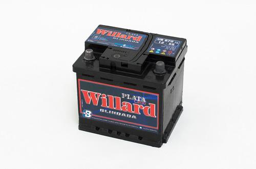 bateria para auto willard blindada ub 670 ag d 12x55