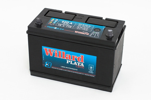 bateria para auto willard heavy duty ub920 d 12x110