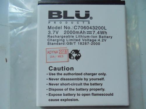 bateria para blu studio 5.0 c706043200l original